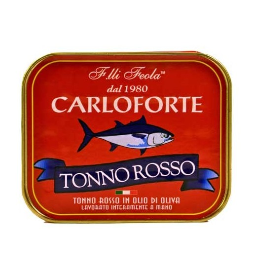TONNO ROSSO FRATELLI FEOLA GR.350